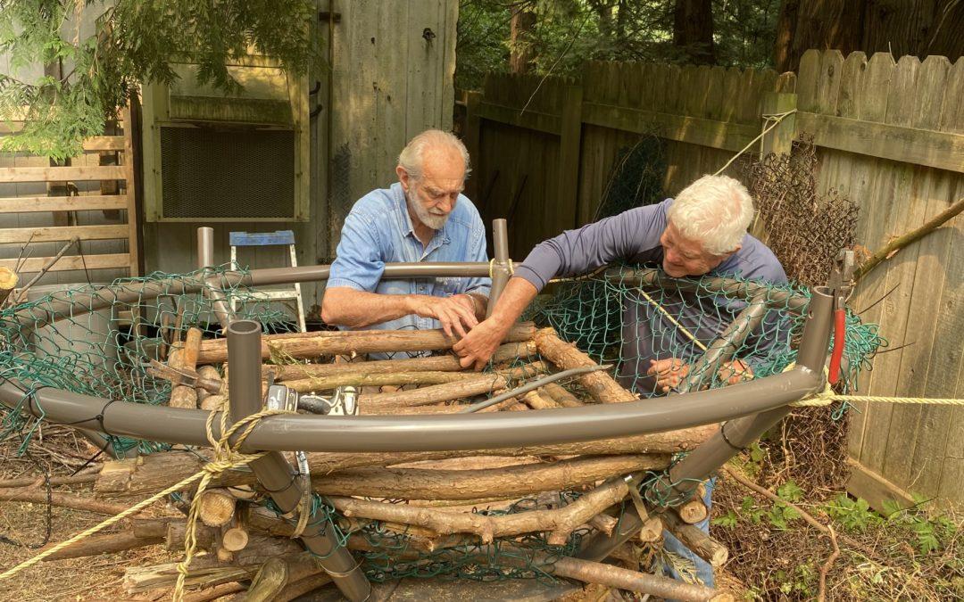 Helping Eagle Build Nests?   Or  Bringing Eagle Nests Up to Standard!
